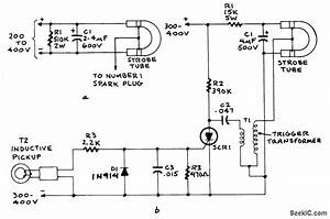 Ignition Timing Light - Led And Light Circuit - Circuit Diagram
