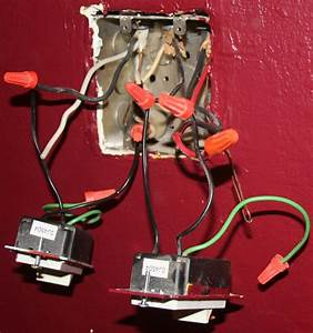 Electrical - How Do I Wire These Dimmer Switches  The Current Wiring Is Crazy