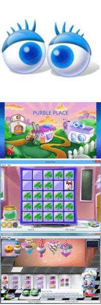 purble place game play  games world