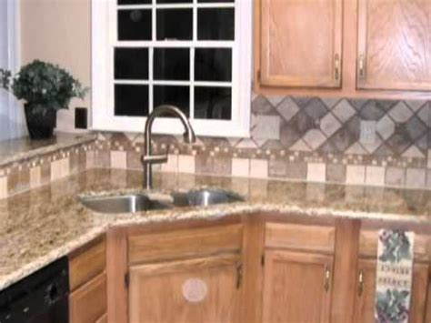 Tile Backsplash Designsspice Up Your Granite Countertops
