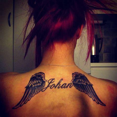 tattoo wings rip  memorie   big brother