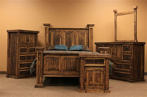 Bedroom Sets Dallas by Dallas Designer Furniture Pine Rustic Bedroom Set