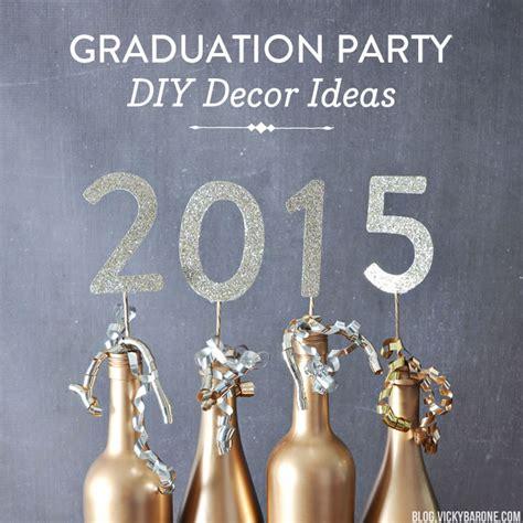 graduation decorations ideas diy graduation diy decor ideas barone
