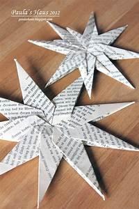 Papiersterne Basteln Anleitung : paula 39 s haus papiersterne falten papiersterne ~ Watch28wear.com Haus und Dekorationen