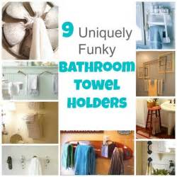 small bathroom towel rack ideas 9 uniquely funky bathroom towel holders bath and