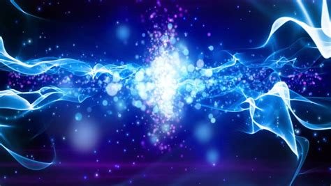 abstract motion background shining lights energy waves