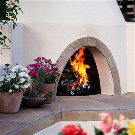 6 Beautiful Outdoor Fireplaces  Home With Design