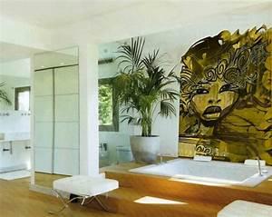 decoration murale les murs font toujours la fete With salle de bain design avec fete pirate décoration