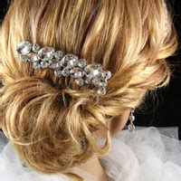 wedding hair styles for best bridesmaid hair accessories navy blue products on wanelo 7341
