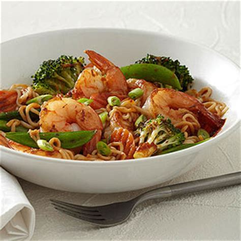 This diabetic vegetarian stir fry recipe is a family favorite at my house. Asian Stir-Fry with Shrimp   Diabetic Living Online