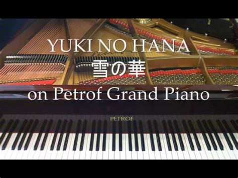 mika nakashima yuki  hana  petrof grand piano youtube