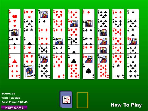Two Deck Spider Solitaire by Two Deck Golf Solitaire