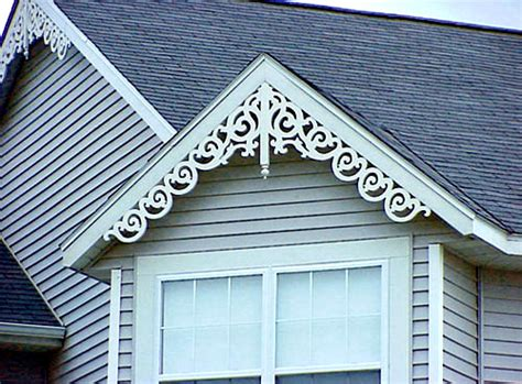 gable roof decorations maintenance free gable decorations at discount prices wholesalemillwork com