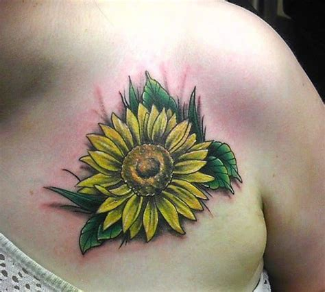 sunflower tattoos   brighten   life
