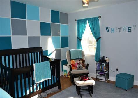 chambre bebe bleu deco chambre bebe bleu petrole visuel 4