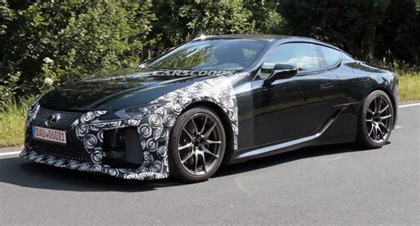 Lexus Lc F Is Happening, Here Are The First Photos Of New