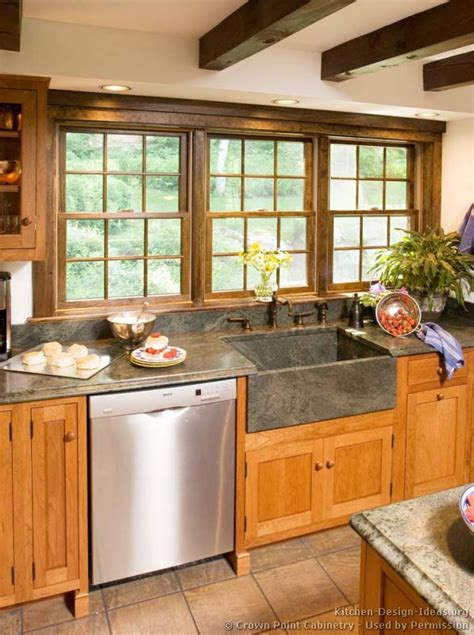 rustic kitchen sink rustic kitchen designs pictures and inspiration