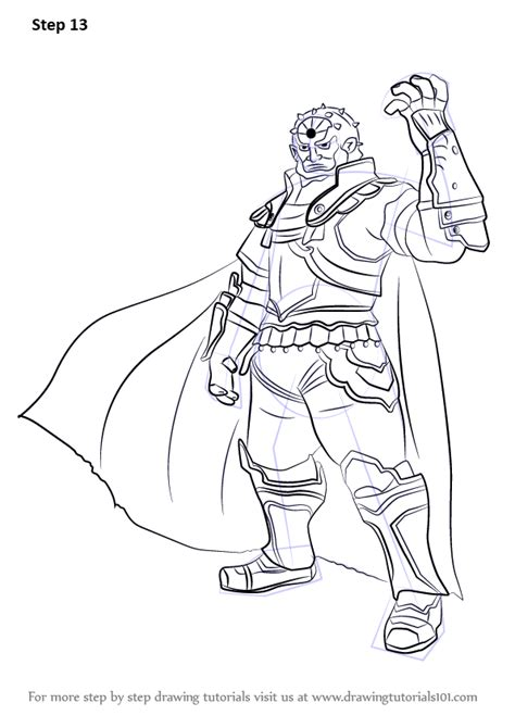 step  step   draw ganondorf  super smash bros