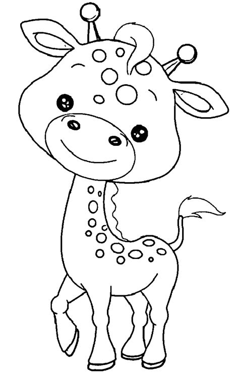 jungle animals clipart black and white free coloring pages baby jungle animals free baby zoo