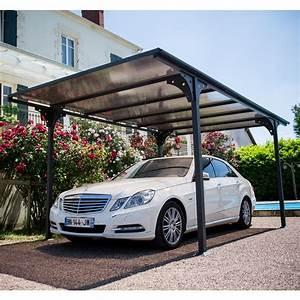 Carport En Aluminium : carport aluminium toit polycarbonate 14 70 m habrita 263 ~ Maxctalentgroup.com Avis de Voitures