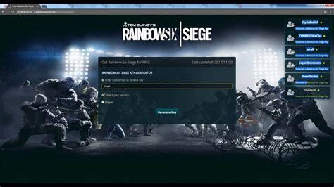 siege keyo tom clancy rainbow six siege key free steam cd key