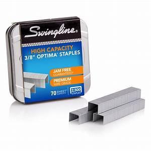 Swingline Optima High Capacity Staples  3  8 U0026quot  Leg Length