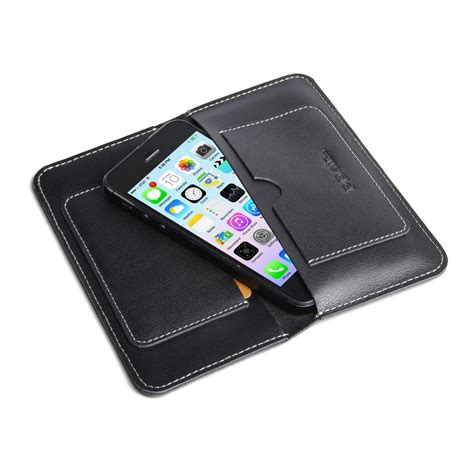 wallet for iphone 5 iphone 5 5s leather sleeve wallet pdair sleeve pouch