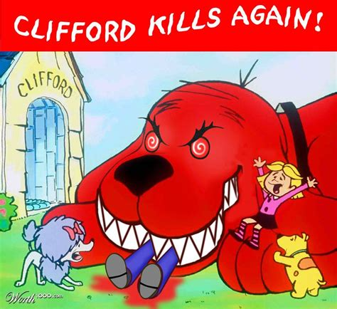 Clifford Memes - big red clifford the dog meme pictures to pin on pinterest pinsdaddy