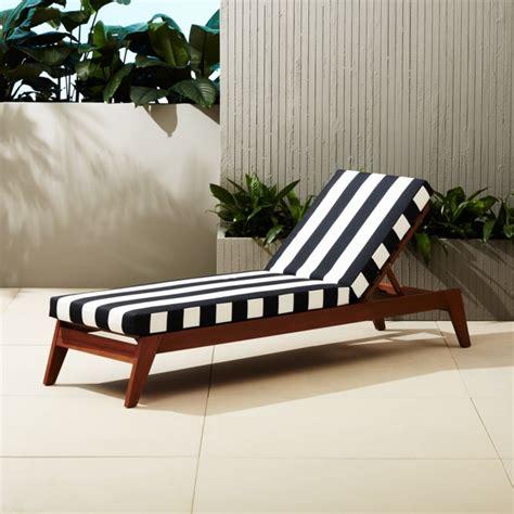 filaki black  white striped chaise lounge reviews cb