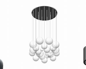 Revitcity object bubble chandelier light fixture