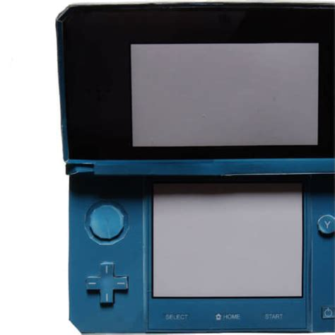 nintendo ds papercraft template  printable