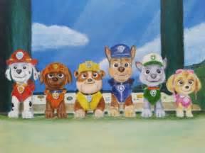 PAW Patrol Cartoon Characters
