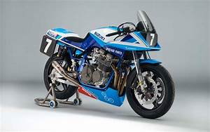 Team Classic Suzuki Gsx1100sd Katana Race Bike 5k