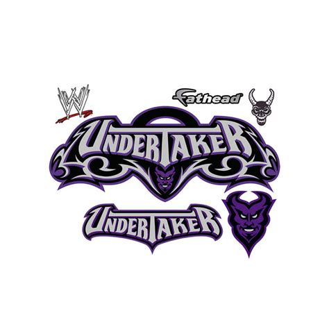 undertaker logo wall decal shop fathead for decor