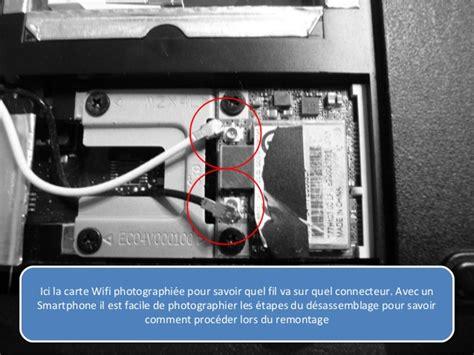 carte wifi pour pc bureau remplacer connecteurs usb sur carte mère pc portable