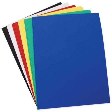 foam sheets in basic colors 8 5 quot 11 quot 12pk walmart com