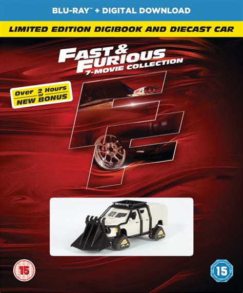fast and furious 1 7 fast furious 1 7 includes bonus disc digibook and car