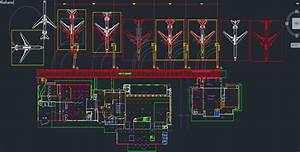 Airport Architectural Drawings Free Dwg  U00bb Cadsample Com
