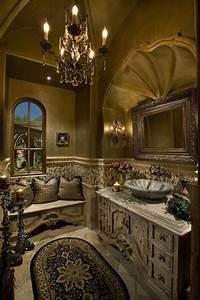 Tuscan Inspired Bathroom Design - Paperblog