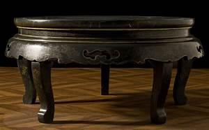 Table Basse Chinoise : table basse vintage chinoise laqu e noir incrustations ~ Melissatoandfro.com Idées de Décoration