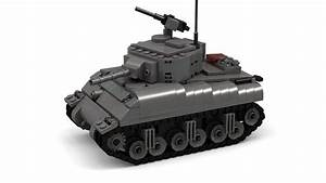 Lego Wwii M4 Sherman  Version 2  Instructions