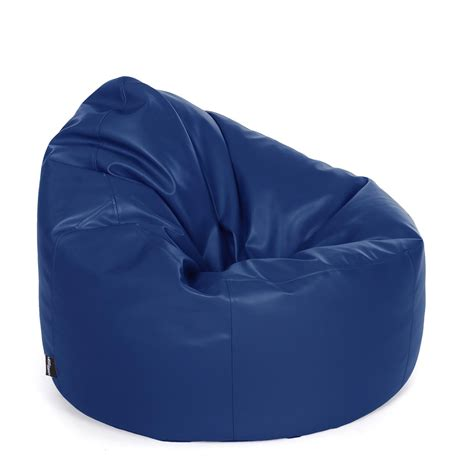 faux leather bean bag chair