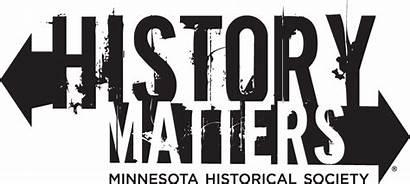 History Logos Matters Historical Minnesota Mnhs Signature