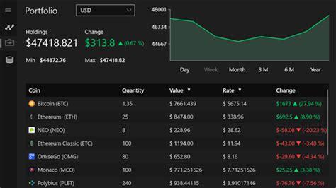 crypto chart  windows  pc