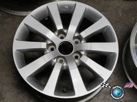 One 04-05 Honda Civic Factory 16 Wheel Rim Oem 63876 6a271