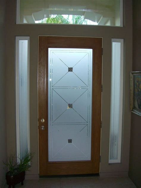 frosted glass doors custom glass entry sans soucie glass