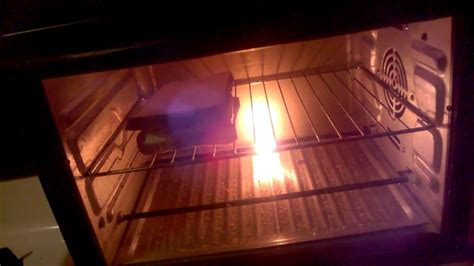 toaster oven element burned  youtube