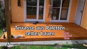 DIY Holz Terrasse Aus Paletten Selber Bauen Schritt Fr