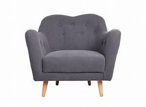 Fauteuil Bergère Pas Cher : fauteuil tissu pas cher maison design ~ Teatrodelosmanantiales.com Idées de Décoration