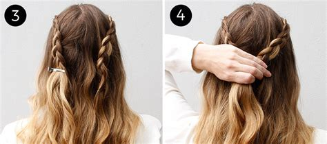 The Lace Braided Half Updo for Any Summer Party   more.com